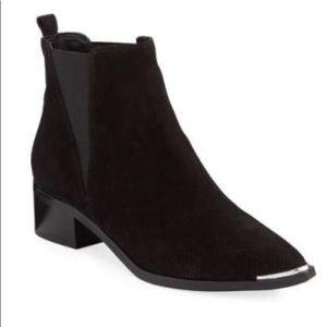 Marc Fisher LTD suede black booties